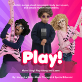 the PLAY CD: Music for teaching special education kids and