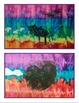 Tie-Dye Collagraph Painting