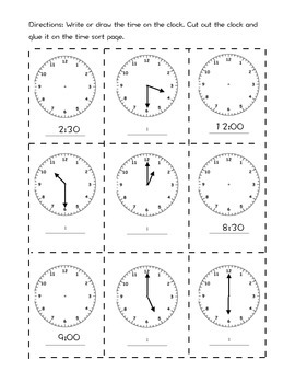 time sort to the hour and half hour
