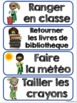 Étiquettes pour la classe (THÈME: HÉROS) - Menu du jour -