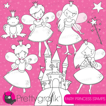 tooth fairy digital stamp commercial use, vector graphics,