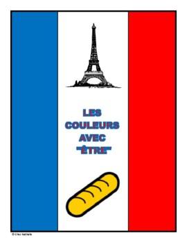Être Conjugations + Colors