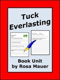 Tuck Everlasting Book Unit
