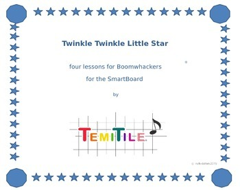 twinkle twinkle little star for boomwhackers®, 4 lessons o