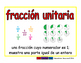 unit fraction/fraccion unitaria meas 2-way blue/rojo