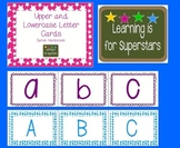 upper and lower case letter cards