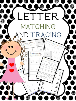 Handwriting letter practice and learning uppercase and low