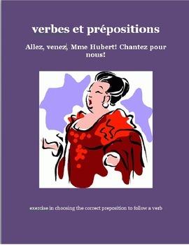 verbes et prépositions FRENCH