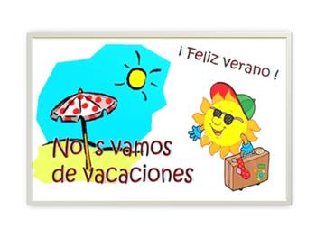 verbo gustar con las vacaciones