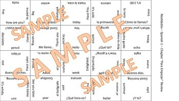 vocab puzzle - family members & celebrations
