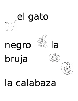 vocabulario de halloween en espanol
