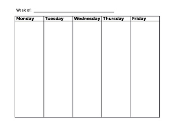 weekly student conference tracking sheet