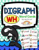 wh Digraph Word Cards