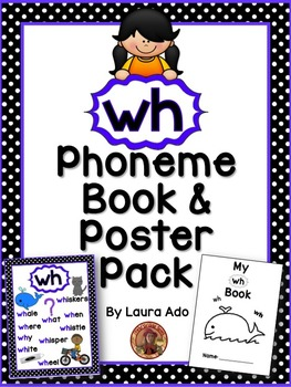 wh Phonogram Book & Poster Pack with Phonics Practice