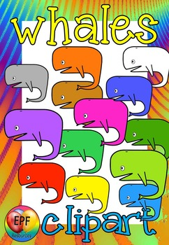 whale clip art(FREE- FREEDBACK CHALLENGE)