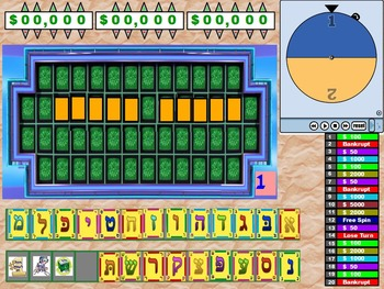 wheel of fortune games +template #1