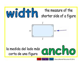 width/ancho geom 1-way blue/verde