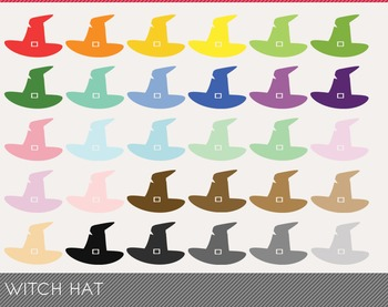 witch hat Digital Clipart, witch hat Graphics, witch hat P