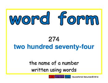 word form/fomra de palabras prim 2-way blue/rojo