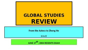 x POWERPOINT Global Studies Review New York State Regents