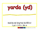 yard/yarda meas 2-way blue/rojo