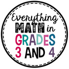 Everything Math in Grades 3 and 4
