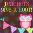 Teachers Give a Hoot