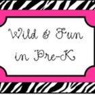 Wild and Fun in Pre-K