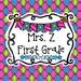 Mrs Z First Grade